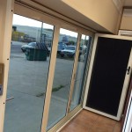 Bifold door screen 1