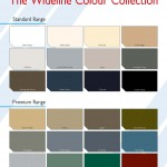 Wideline Colour Chart