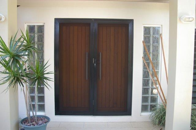 SecureView Over Doors Doesn't Take Away The Look Of Your Beautiful Timber Doors