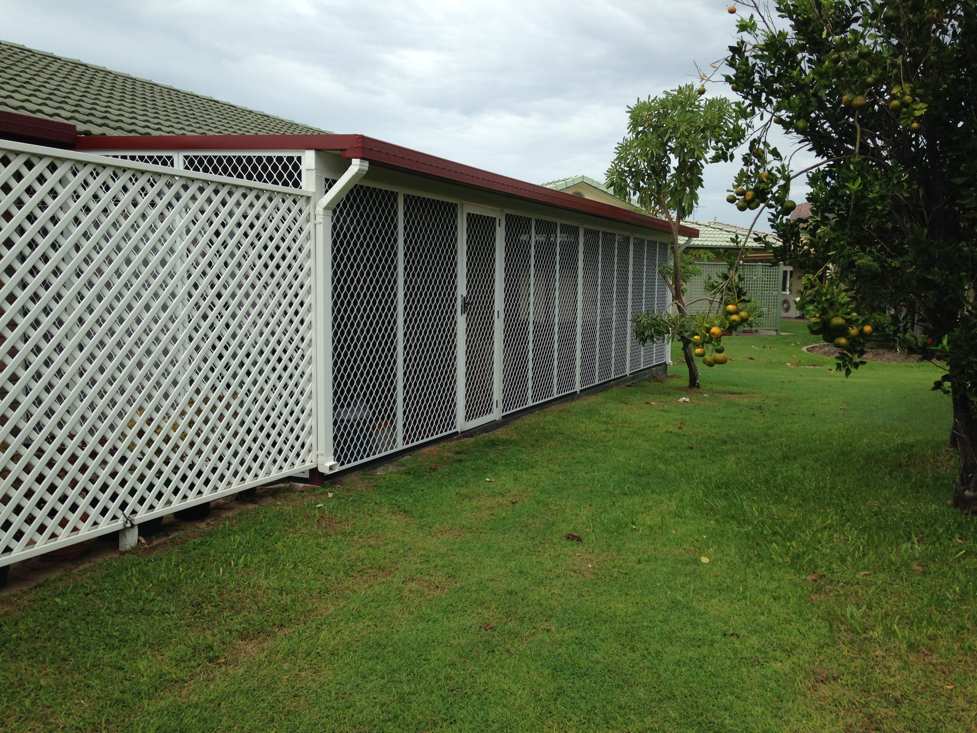 After - Barrier Patio Enclosure