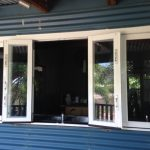 After - Heritage BiFold Window - Partially Open