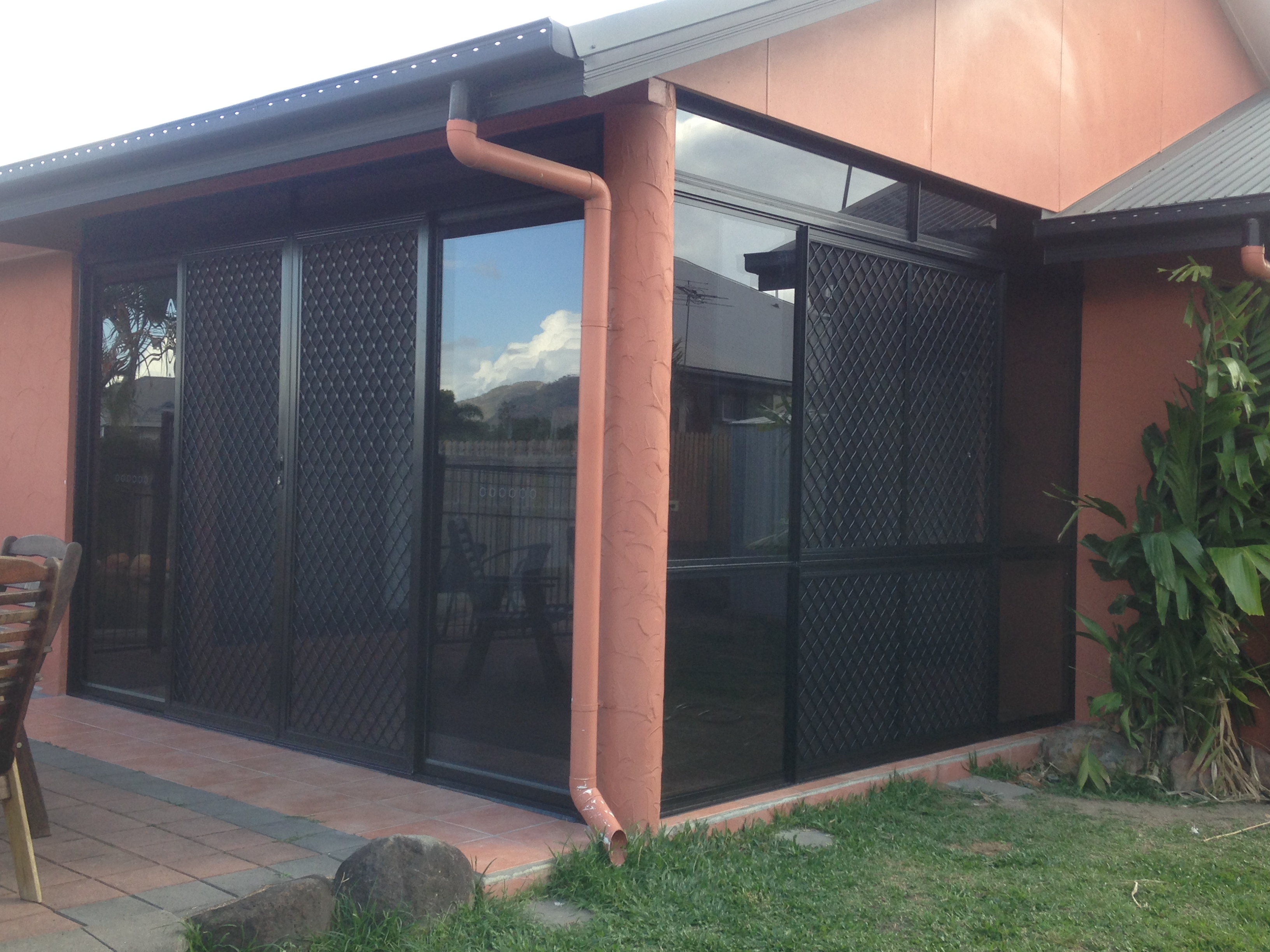 Centre Opening Sliding Glass Door and Combination Centre Opening Sliding Glass Windows