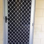 Single Hinged Barrier Door