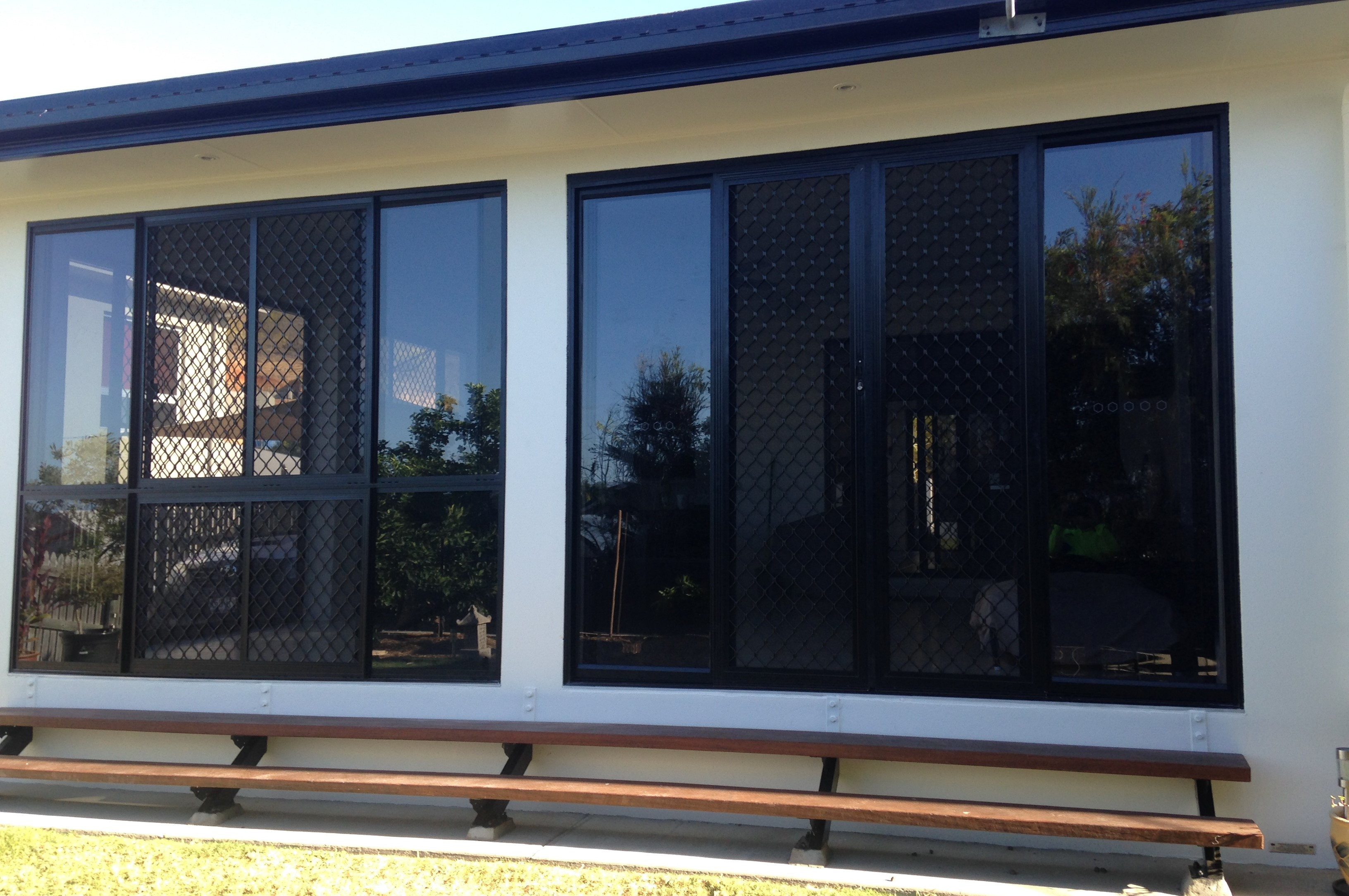 After - Sliding Glass Door and Window Patio Enclosure